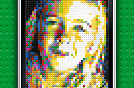 LEGO Photo iPhone App
