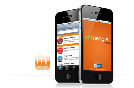 Mangia Mobile Application